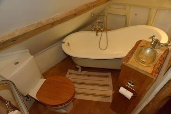 Bijou ie small but perfectly formed Bathroom