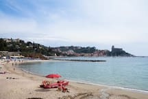 Spiaggia de La Venere Azzurra, Lerici