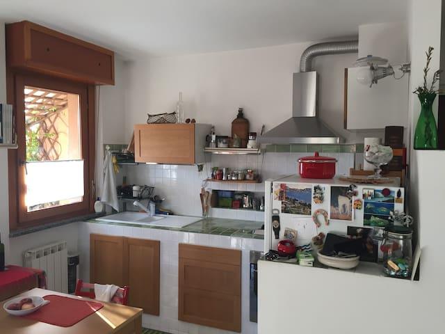 mansarda privata con bagno + a/c - Legnano - Apartment
