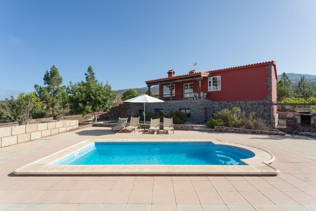 Cozy Cottage With Swimming Pool Houses For Rent In Adeje Canarias Spain