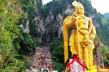 Direct transit to Batu Caves by KTM from Subang Jaya