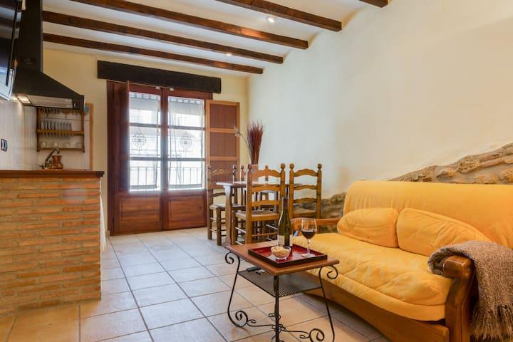 Estudio Rural Doble, Sant Mateu - Sant Mateu - Apartamento