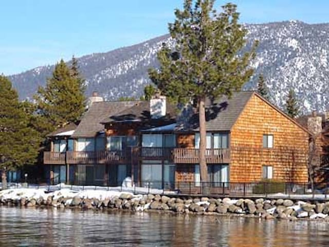 Steps from the Lake - Private Beach - South Lake Tahoe - Tipi