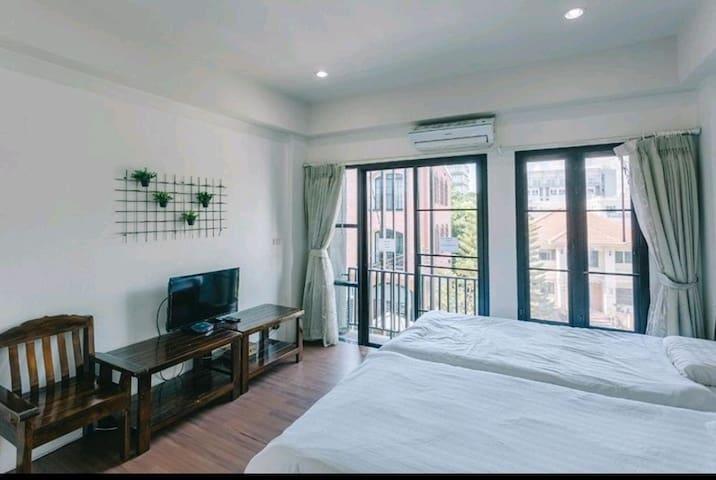 Comfort Twin Room@Nimman17