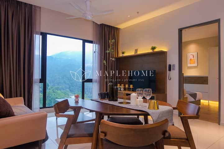 Sophisticated 2BR Suite 15min to Genting Highlands