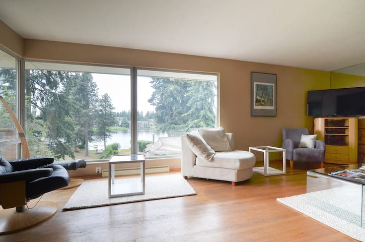 Lake View Retreat in North Seattle