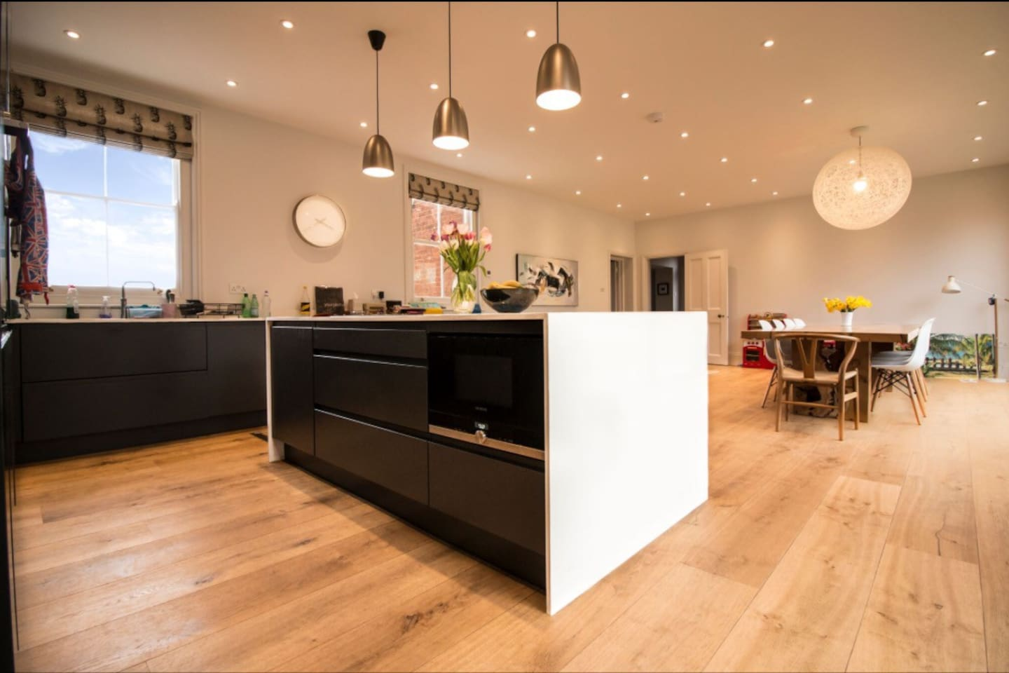 Full use of family kitchen