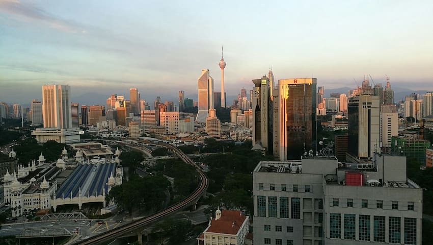 KL Sentral Suite with City Skyline - Kuala Lumpur - Appartement
