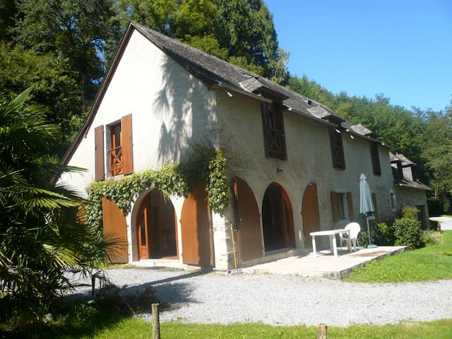 Moulin de Guirail -maison indépendante - - Aramits - House