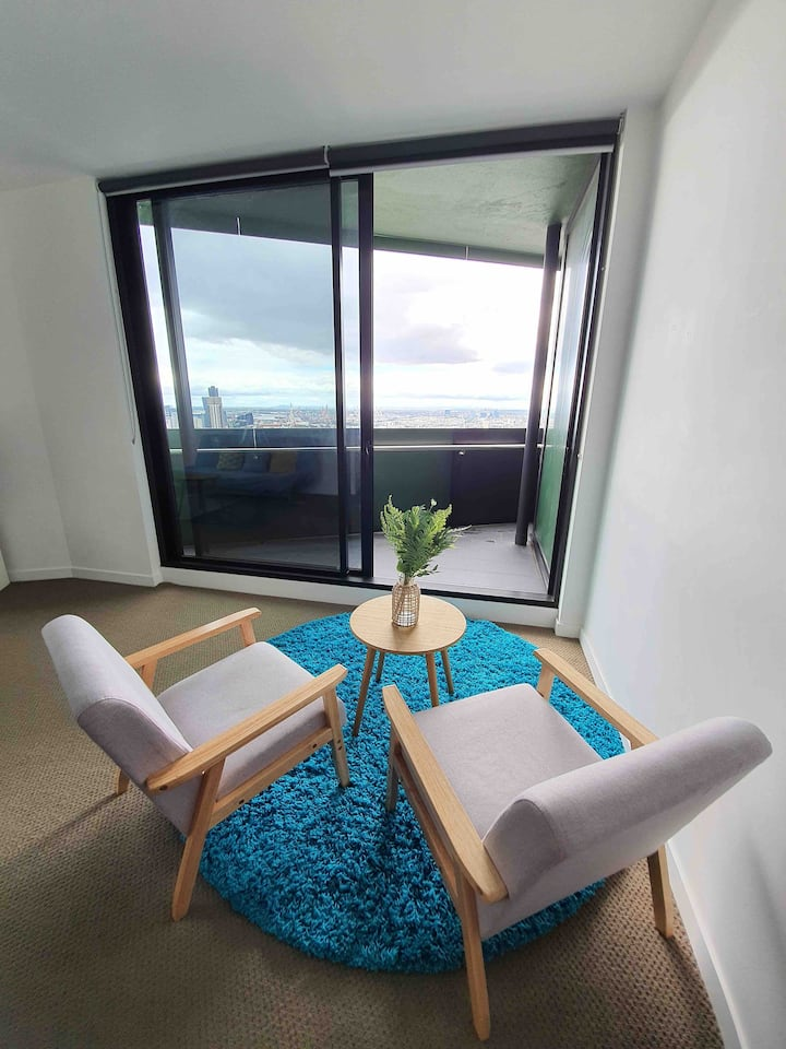 3Lovelyhome 2Bedrooms W SkylineView, MELB CITY