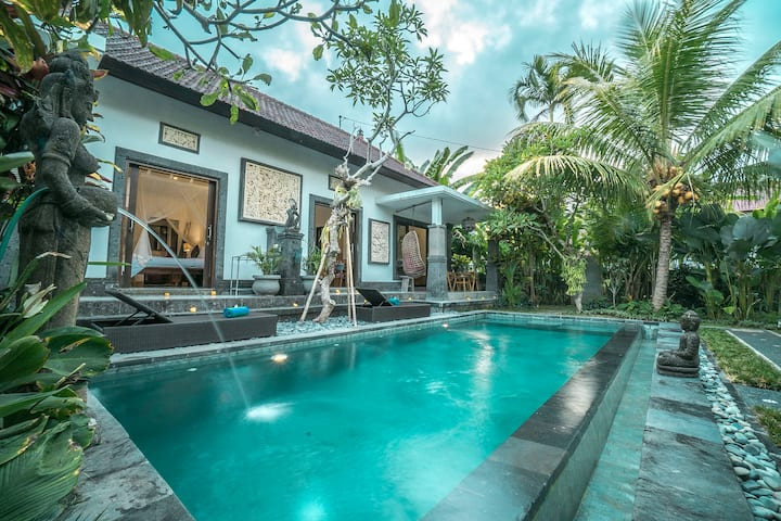Zen Getaway with Pool and Garden