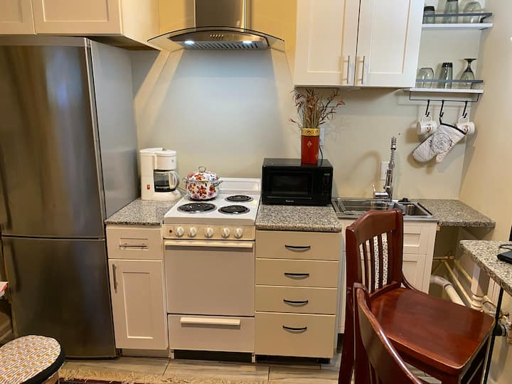 Cox Basement Efficiency Guest Suite/Condo Flat