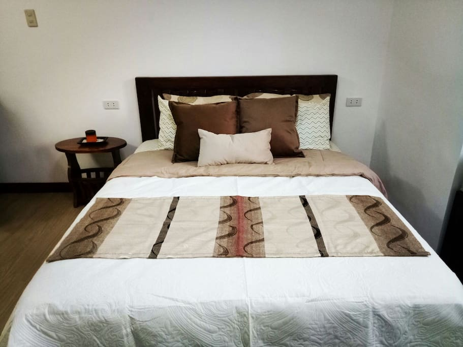 Shades of brown beddings