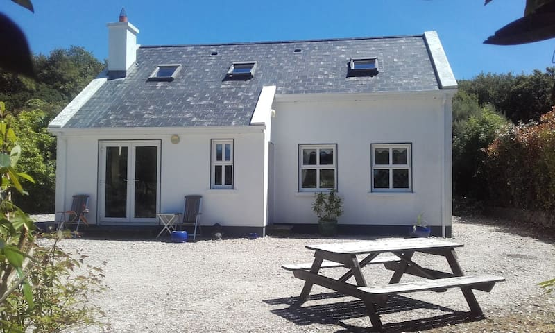 Connemara home with Fjord view