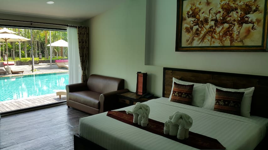 Laan Mai Fai Chang Resort - Tambon Hang Dong - Bed & Breakfast