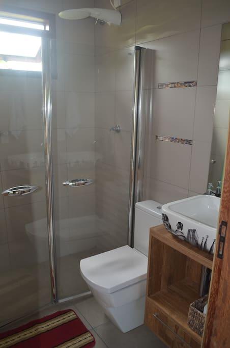 Banheiro central