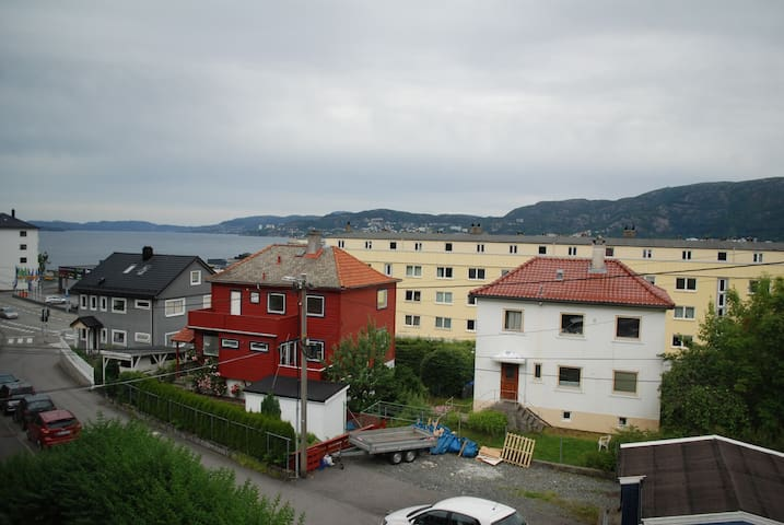 Apartment with fjord view
