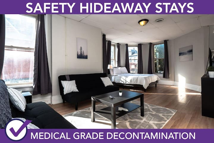 Safety Hideaway - Medical Grade Clean Home 47