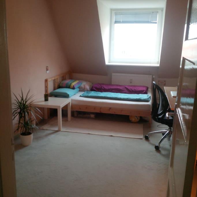 Zimmer, mit Bettzeug für 2