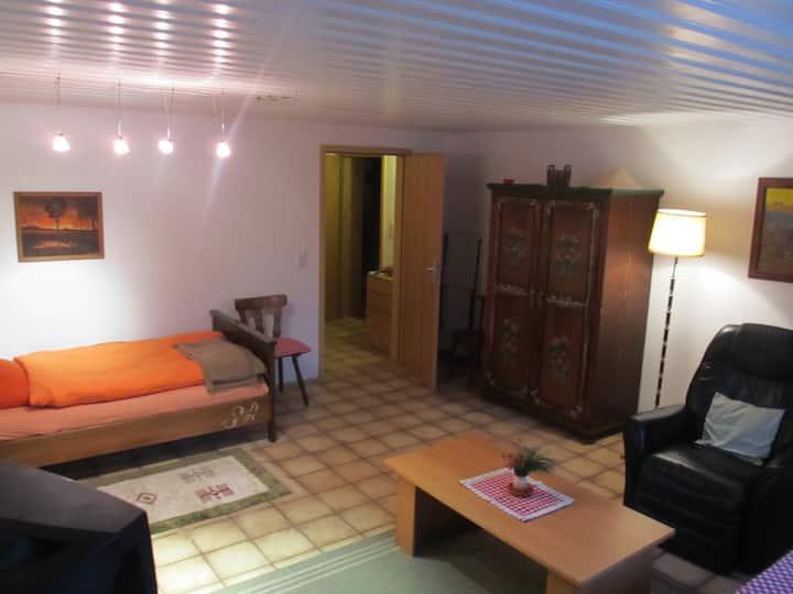 Big Bavarian room to the garden