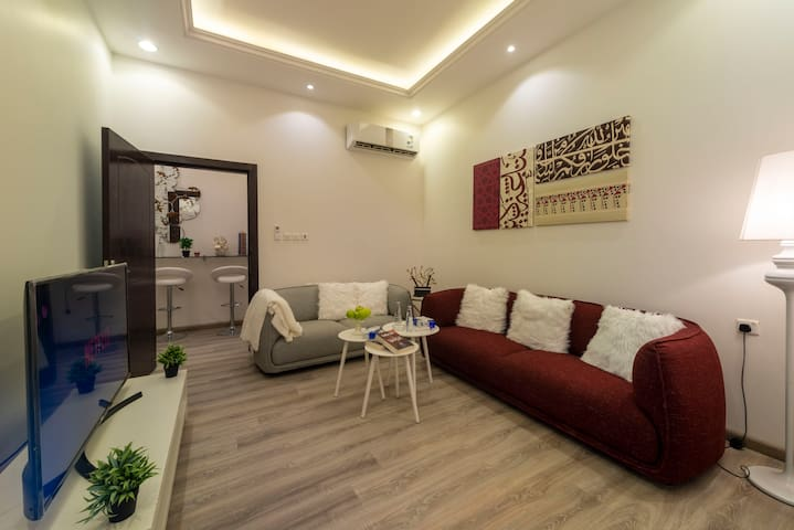 One Bedroom Apartment with Private Entrance