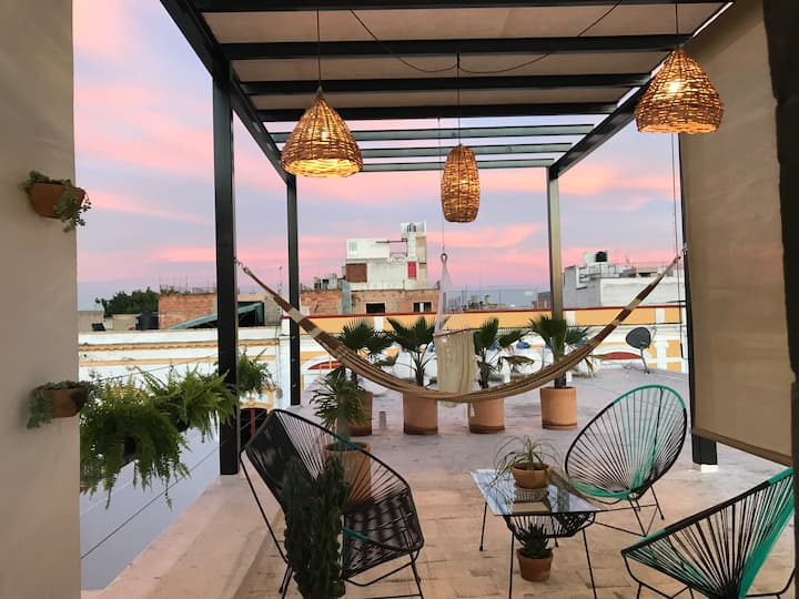 Private Roof Top Apartment Historical Guadalajara