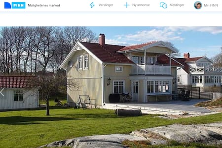 Flott hus med utsikt