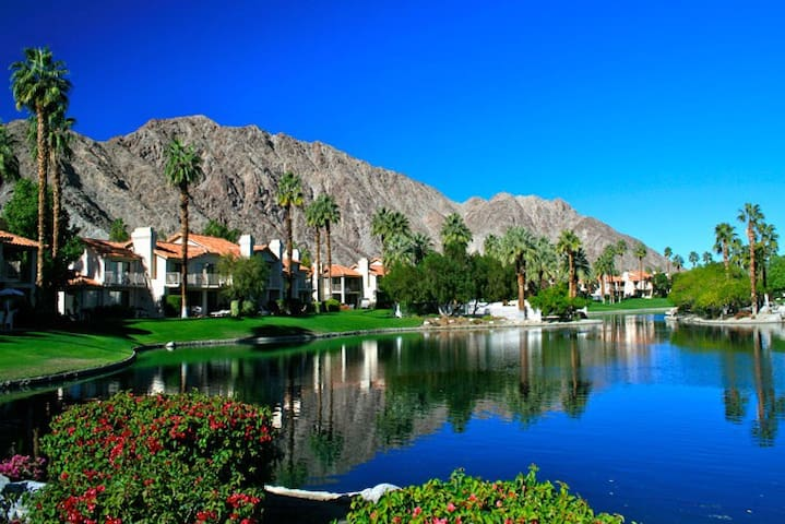 Gorgeous lake view in private gated community