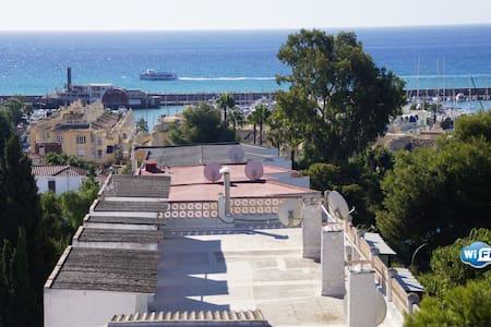 Playa y Puerto Marina a 5 min. - Benalmádena