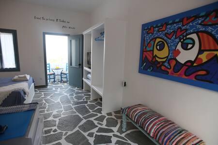 Nereus - Naxos Studio with sea view