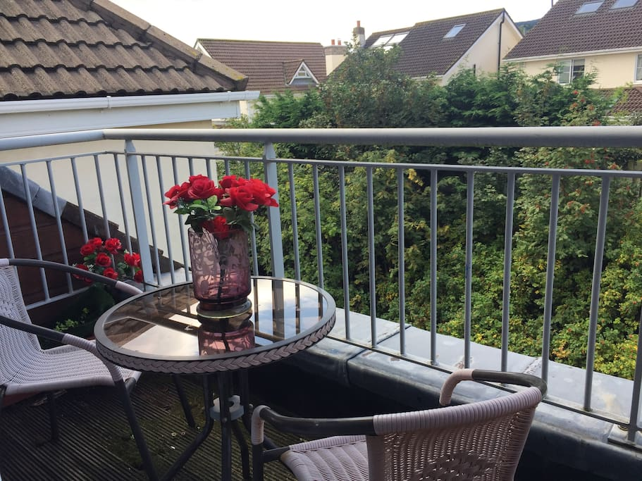 Sit down on your private balcony and take in the view of Dublin Mountains.