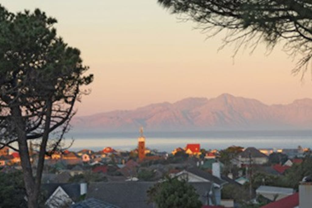 View over the False Bay
