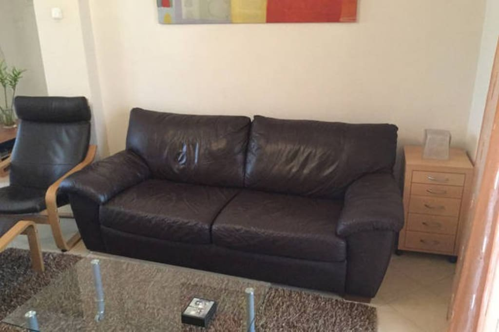 Soft relaxing two seater sofa to enjoy your coffee or watching TV!..