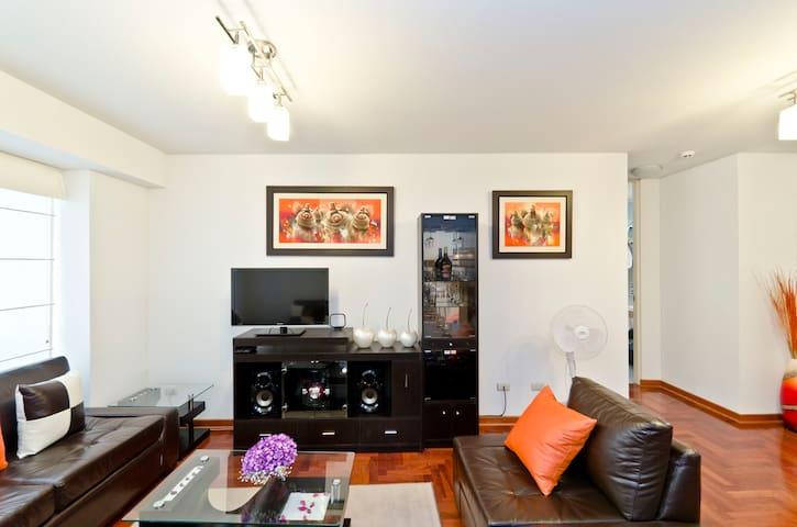 Apartamento no coração d Miraflores - Miraflores - Apartamento