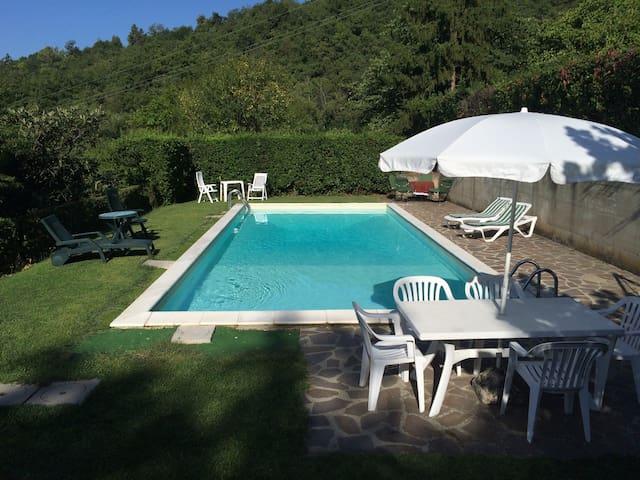 Casa con piscina campagna Mugello - scarperia - Dům