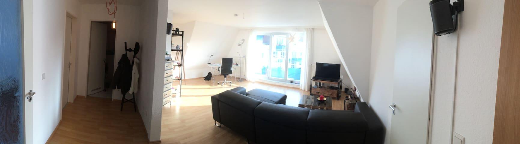 biete moderne 2-Raumwohnung für schöne Tage in HGW - Greifswald - Lägenhet