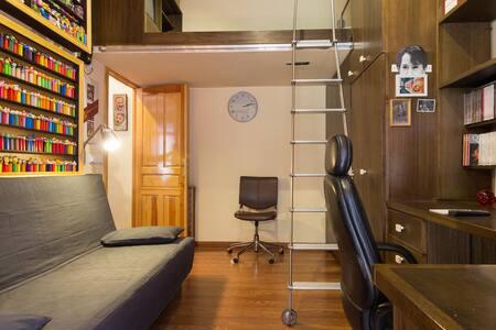 Habitacion 4-5 pax en el centro - Madrid - Ház