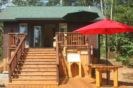 Scotty Point Cabin - New, Private, Views & Comfy! - Trinidad - Huis
