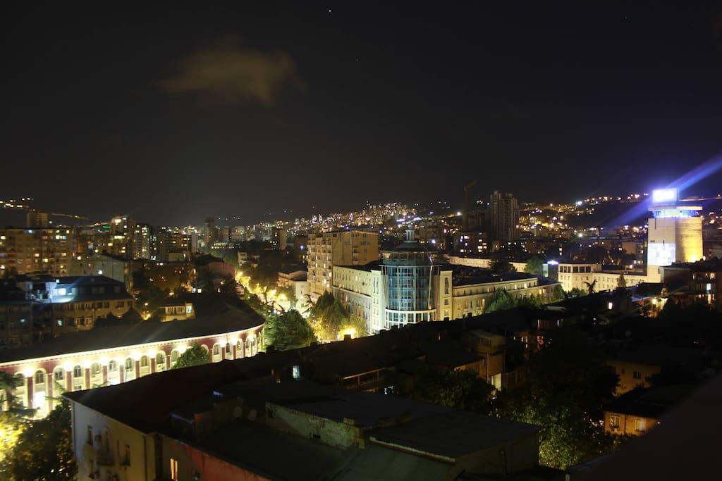 Amazing night view from Teressa