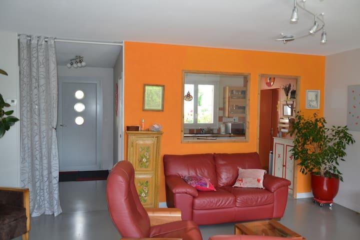 Maison cosy proche de Nantes - Thouaré-sur-Loire - Casa