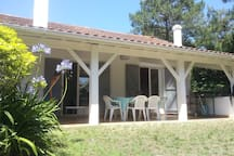 Maison côté terrasse