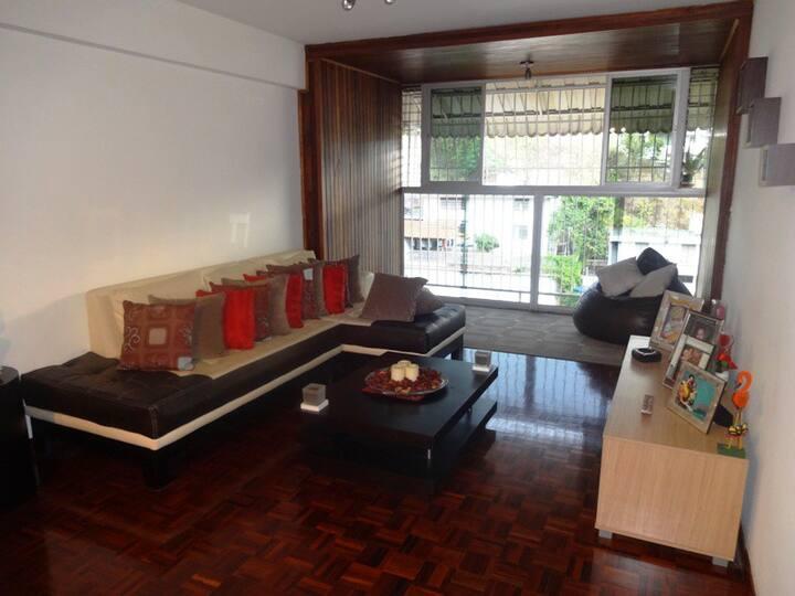 habitación privada, cómoda y limpia