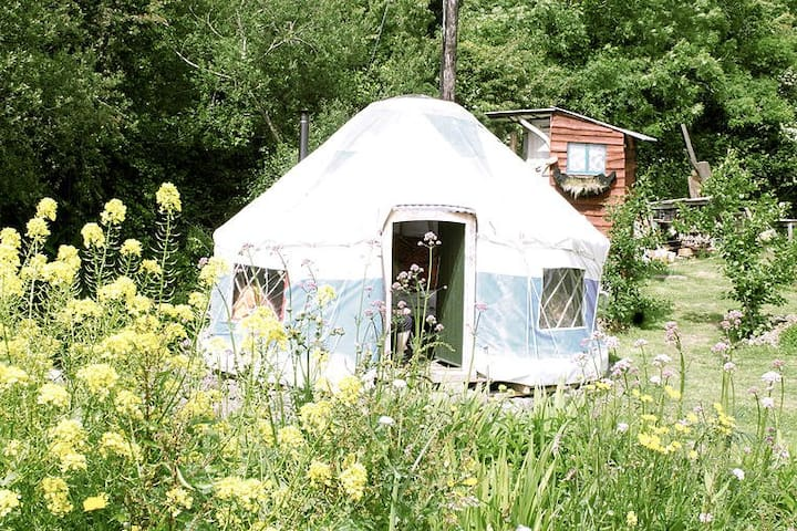Inch Hideaway, Blue Yurt, Eco Camp - Whitegate - Yurt