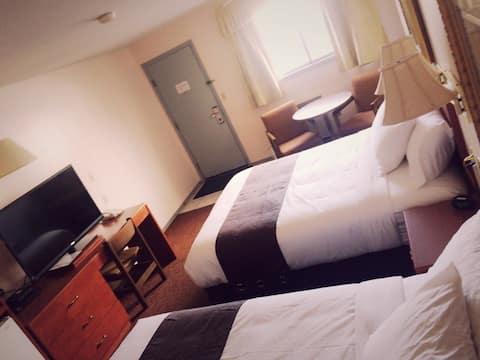 Best Seven Inn : one Queen size bed