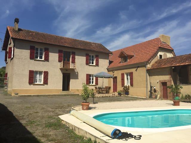 Maison Lafourcade - Luc Armau - Rumah