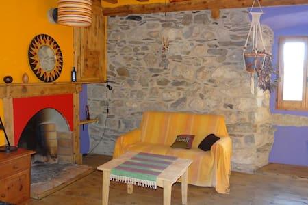 Habitacion rustica y muy acogedora - Latour-de-Carol - House