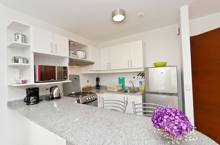 Nice flat heart/Miraflores 3rd fl - Miraflores District - Appartement