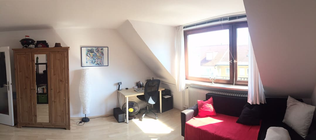 1,5 room apartment in the center - München - House