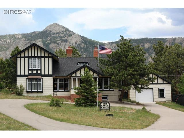 King size bed, bath/shower ensuite - Estes Park - House