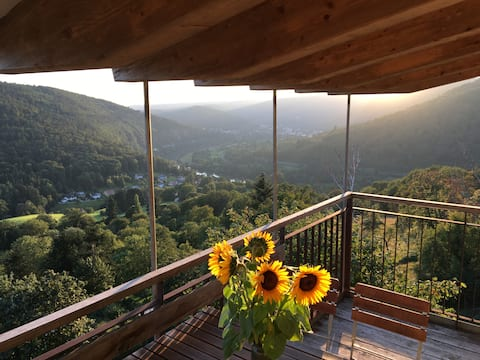 Posizione mozzafiato sopra la valle del Neckar